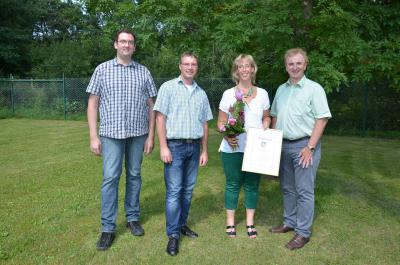 Foto zu Meldung: 25. Dienstjubiläum bei der Verbandsgemeindeverwaltung Rheinböllen