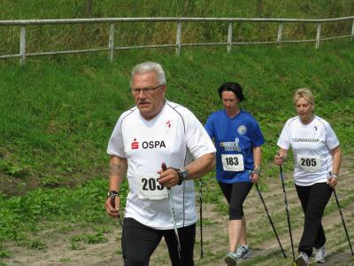 Foto zu Meldung: 1.OSPA-Nordic Walking Tag in Laage