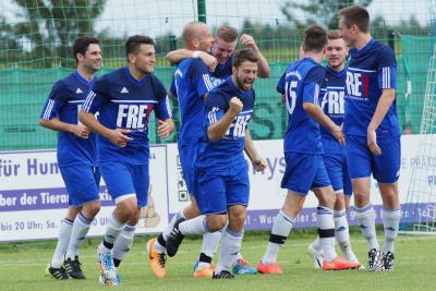Foto zu Meldung: Landesliga Nordost: FC Vorwärts - TSV Nürnberg-Buch 1:0 (0:0)