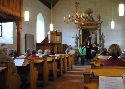 Foto zur Meldung: Gottesdienst  up Platt