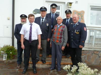Foto zur Meldung: Christian Winzinger feierte sein 95. Wiegenfest