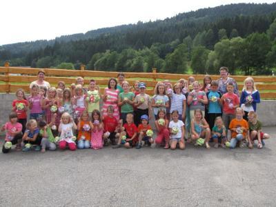Foto zur Meldung: Bastelnachmittag beim Dorfverein