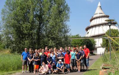 Foto zur Meldung: Sommerlager der Jugendfeuerwehr Falkenstein/Harz