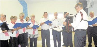 Foto zur Meldung: Singkreis Palmbachtaler: Gesang der Palmbachtaler weckt Heimatgefühle