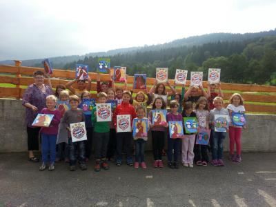 Foto zur Meldung: Dorfverein organisiert ein weiteres  Ferienprogramm