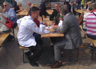 Foto zur Meldung: GenussFestival in Potsdam gut besucht