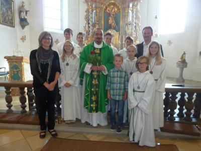 Foto zur Meldung: Erster offizieller Gottesdienst in der Pfarreiengemeinschaft