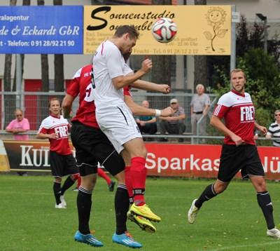 Foto zu Meldung: Landesliga Nordost: 1. FC Feucht - FC Vorwärts 5:0 (2:0)