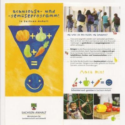 Foto zur Meldung: Schulobst- und - Gemüseprogramm