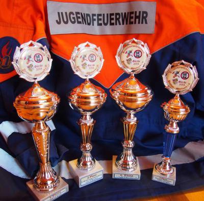Foto zur Meldung: Jugend wird 2-facher KREISMEISTER beim Kreisausscheid 2014 in Görzke