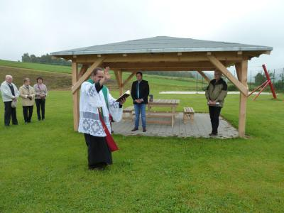 Foto zur Meldung: Der Kinderspielplatz wurde eingeweiht