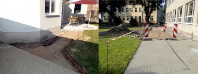 Foto zu Meldung: Bauarbeiten am Freizeitzentrum