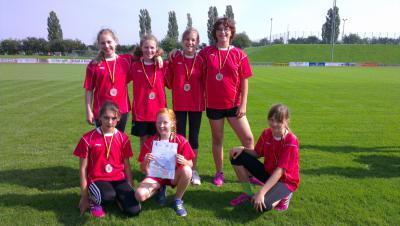 Foto zur Meldung: Leichtathletik Kreisfinale der Mädchen