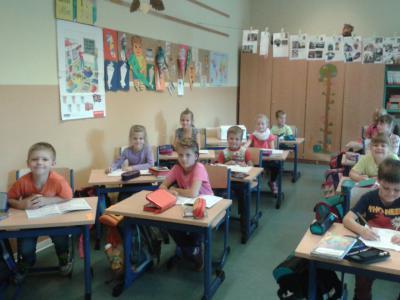 Klassenraum der Klasse 1a