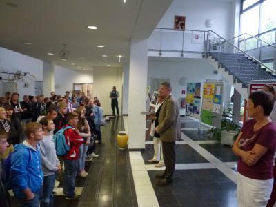 Foto zur Meldung: Begrüßung der 1. Lehrjahre der duale Ausbildung des Standort Prenzlau