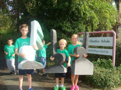 Foto zur Meldung: Unsere Kinder laufen für die SingPause 1361 Kilometer!