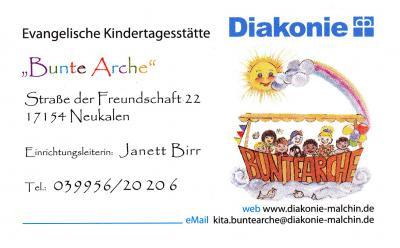 """Foto zur Meldung: Evangelische Kindertagesstätte """"Bunte Arche"""""""