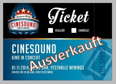 """Foto zur Meldung: Zusatzkonzert """"Cinesound - Kino in Concert"""" am 02.11.2014 ebenfalls ausverkauft"""