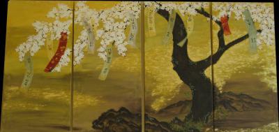 Foto zur Meldung: Ausstellungseröffnung: Asiatische Tuschmalerei