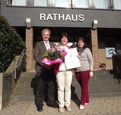 Foto zur Meldung: 40. Dienstjubiläum bei der Verbandsgemeindeverwaltung Rheinböllen