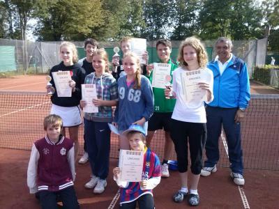 Foto zur Meldung: Tennis
