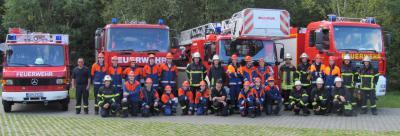 Foto zur Meldung: Feuerwehrmann für einen Tag