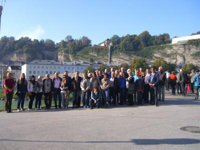 Foto zu Meldung: Die Handwerker reisten nach Salzburg