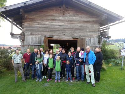 Foto zur Meldung: Herbstwanderung beim Dorfverein