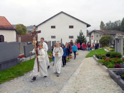 Foto zur Meldung: Herbstzeit ist Erntezeit – Erntedankfest in St. Georg