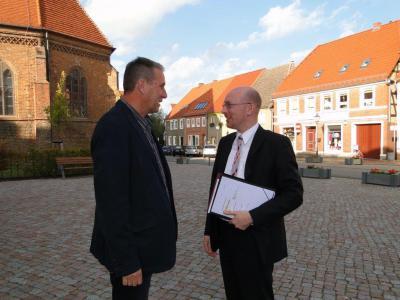 Foto zur Meldung: Finanzielle Unterstützung aus Schwerin