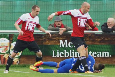 Foto zu Meldung: Landesliga: FC Vorwärts - VfL Frohnlach 0:1 (0:1)
