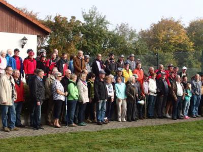 Foto zur Meldung: Grenzwanderung am 03.Oktober 2014-            Grenzen erkennen- Grenzen erfahren!