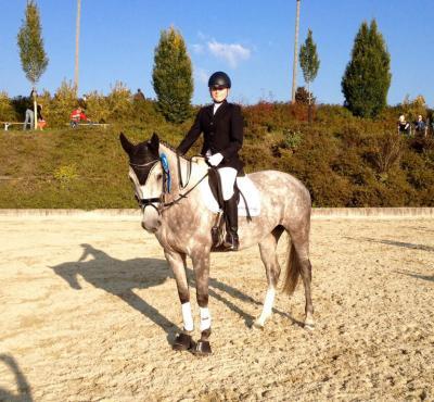 Foto zur Meldung: Sophia Auer in Schärding erfolgreich