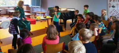 """Vorschaubild zur Meldung: Lesung dbv-Projekt  """"Literaturforum Bibliothek"""" in Lengenfeld"""