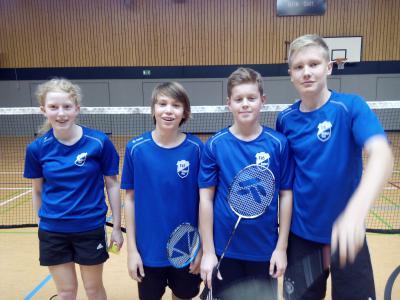 Foto zur Meldung: Elsdorfer Badminton-Spieler gewinnen am Wochenende alle Spiele