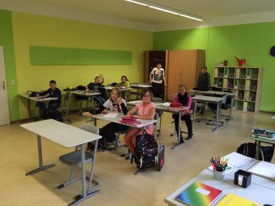 Foto zur Meldung: Ein Klassenraum zum Wohlfühlen