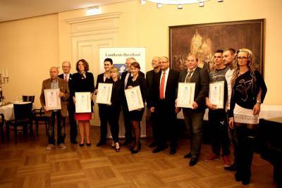 Foto zur Meldung: Wirtschaftsförderpreis 2014 verliehen
