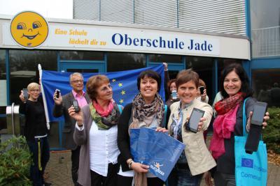 """Foto zur Meldung: Erasmus+-Projekt """"Be smart! – Dem Handy auf der Spur"""" bewilligt"""
