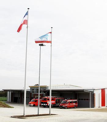 Die neue Stapelfelder Feuerwache an der Hauptstraße 69