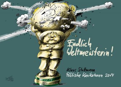 Plakat- und Buchcovermotiv von Klaus Stuttmann