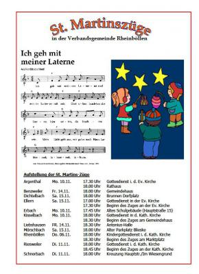 Foto zur Meldung: St. Martinszüge in der Verbandsgemeinde Rheinböllen