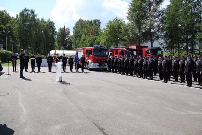 Foto zur Meldung: Tag des Feuerwehrmannes in der OSP Smierdnica