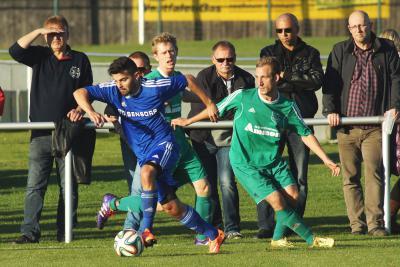 Foto zu Meldung: Landesliga: FC Vorwärts - ASV Veitsbronn-Siegelsdorf 3:1 (2:1)