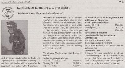 Amtsblatt Eilenburg, 24.10.14