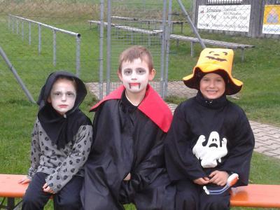 Foto zur Meldung: Halloween beim SV Moosbach