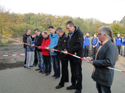 Foto zur Meldung: Eröffnung des Vereinsgebäudes