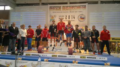 Vorschaubild zur Meldung: Deutsche Meisterschaften im Gewichtheben 2014