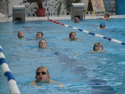 Foto zur Meldung: Erfolgreiches Schwimmlager der 3. Klasse