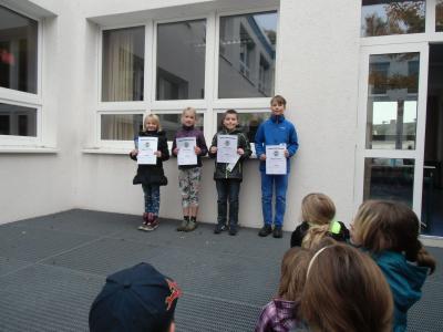 Foto zur Meldung: Sieger Matheolympiade