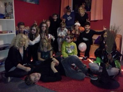 Foto zur Meldung: Halloween in der EKS